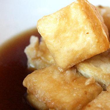 Agedashi tofu at Donguri