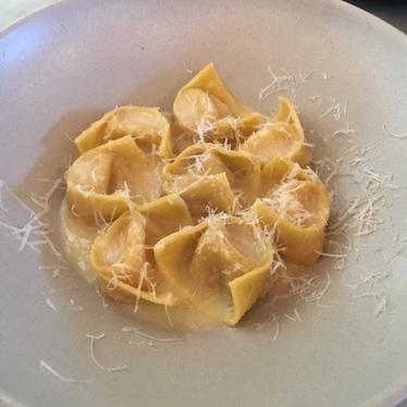 Tortellini in Brodo at Alimento