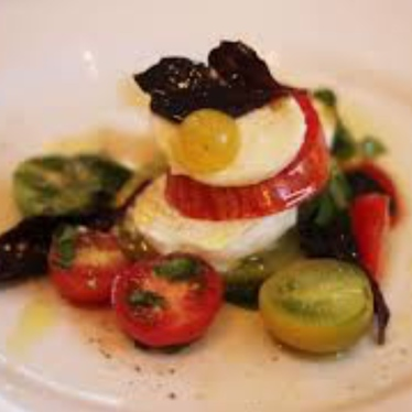 Caprese Salad at Babbo Ristorante
