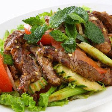 Thai Nakorn beef salad at Thai Nakorn