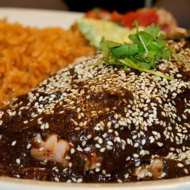 Mole tamale at El Camión