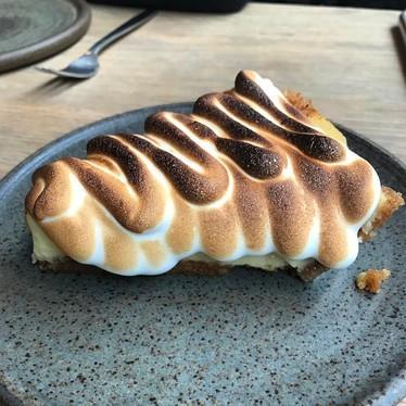 Key lime pie at Llama Inn