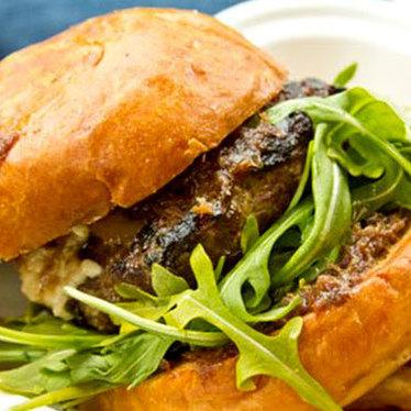 Burger at Skillet Diner
