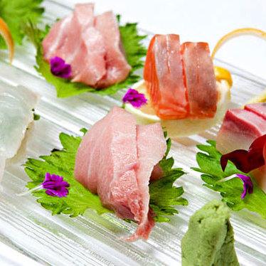 Toro sashimi at Tomo