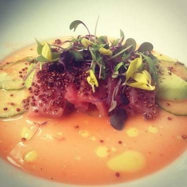 Tuna dish at MC Kitchen