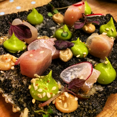 Nori Crostini at State Bird Provisions