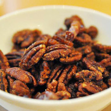 Hickory smoked Georgia pecans at JG Domestic