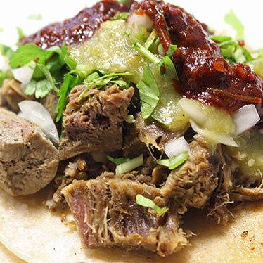 Tacos de lengua at Taco Loco