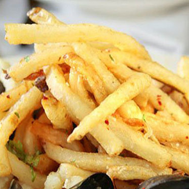 French fries at Herbsaint