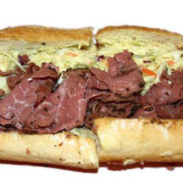Tat'strami sandwich at Tat's Delicatessen