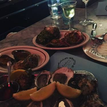 Oysters at Zadie's Oyster Room