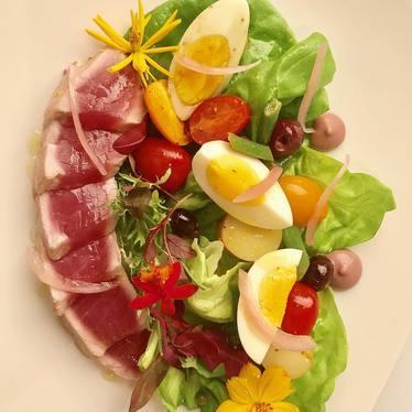Tuna Niçoise salad  at St. Regis Bal Harbour Resort