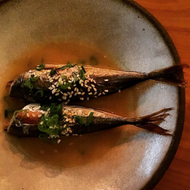 Little smoked mackerels at The Progress