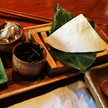 Homemade silky tofu at Cocoron