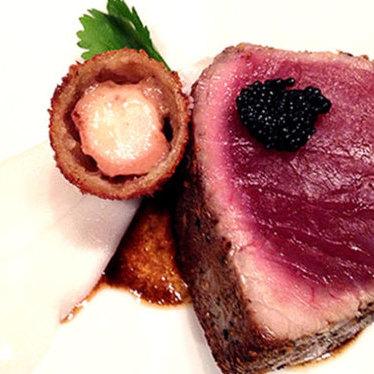 Six-course tasting menu at Beast