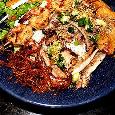 Bún Đặc Biệt at Green Leaf Vietnamese Restaurant
