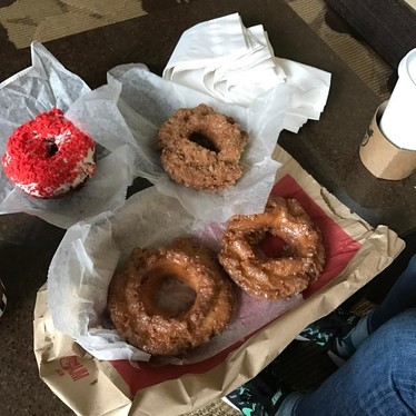 Assorted donuts at Do-Rite Donuts & Coffee