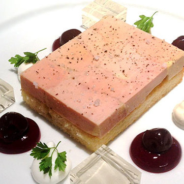 Terrine of duck foie gras at L'Abattoir