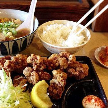 Thursday's daily lunch combo at Yakyudori Yakitori & Ramen