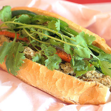 Tofu sandwich at Sumiko Cafe