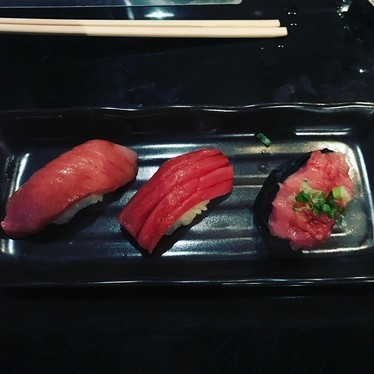 Tuna nigiri at Kura Sushi