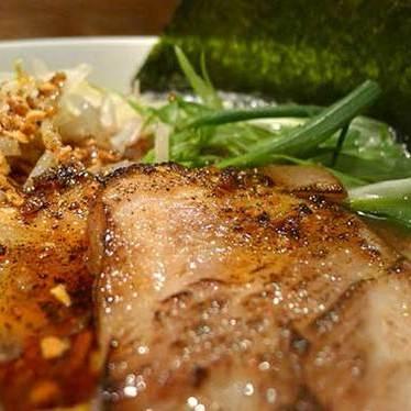 BBQ pork ramen at Kintaro