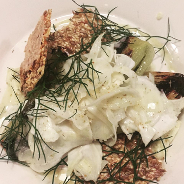 Fennel, four ways at Barbareño