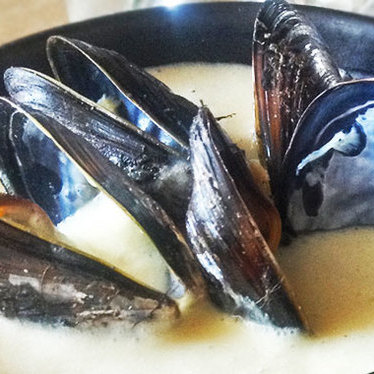 Soup of Cove mussels at Sir and Star
