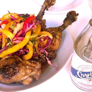 Crispy chicken on the bone at SoBou