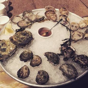 Kumamoto, Damariscotta and Belones oyster varieties at Farallon