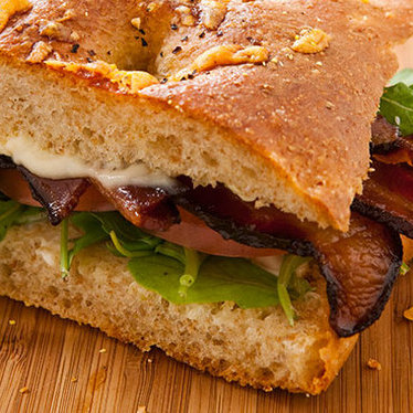 Applewood smoked BLT at Flour Bakery & Cafe