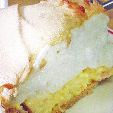 Meringue pie at Lea's Lunchroom