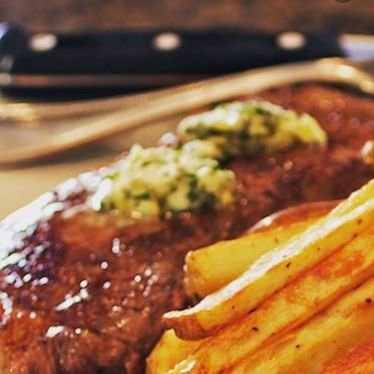 Steak frites  at Ruby Watch Co.