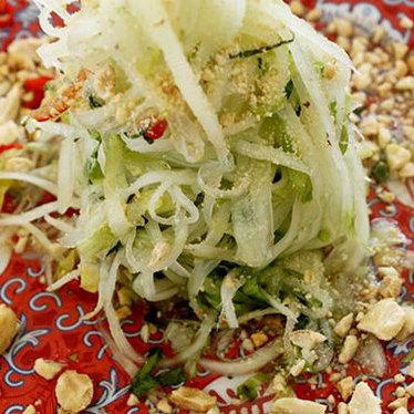 Papaya salad at Satay Brothers