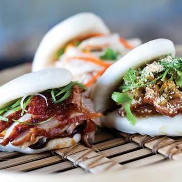 Pork belly bao at Fat Choy