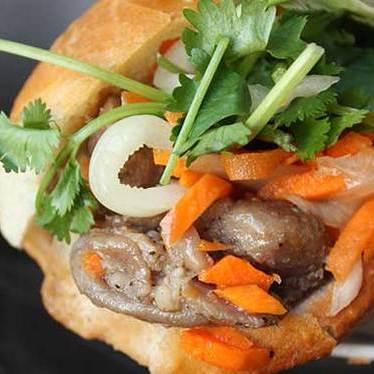 Bánh mì thịt nướng at Nguyen Huong Food Company