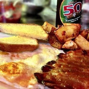 Labatt 50 breakfast at Beast Restaurant