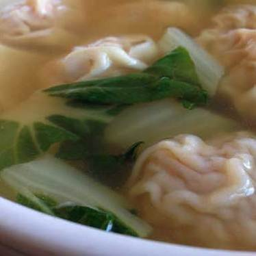 Wonton noodle soup at Swatow Restaurant 汕頭小食家