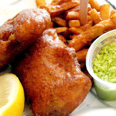Fish n' chips at Brit & Chips