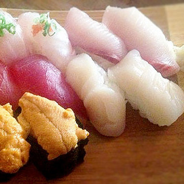 Nigiri specials at Umi