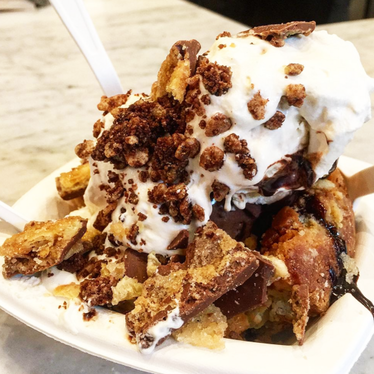 Sundae at Ample Hills Creamery