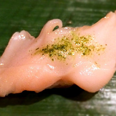 Geoduck clam sashimi at ICHI Sushi