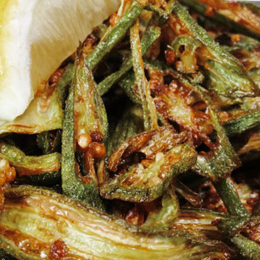 Okra at Bollywood Theater