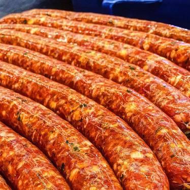 Merguez Sausage, 100% Lamb at The Butcher & Larder