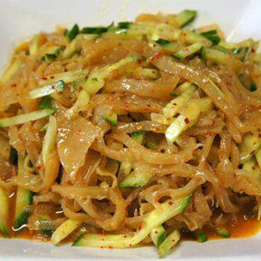 Jellyfish salad at Frank's Noodle House