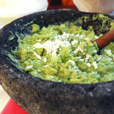 Guacamole at Oyamel Cocina Mexicana