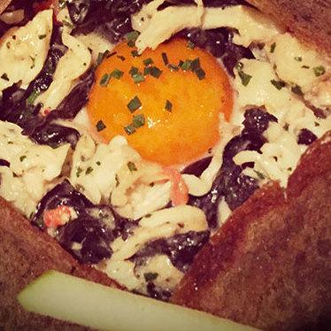 King crab crêpe at BARDOT Brasserie