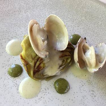 Artichoke and clams at Chelo