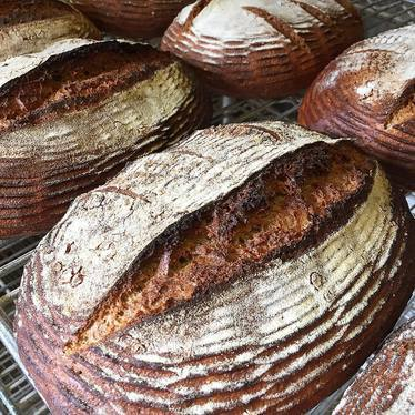 Heritage whole wheat at HEWN Artisan Bread