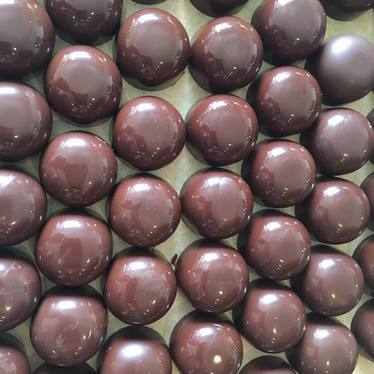 72 percent chocolate truffles at Valerie Confections